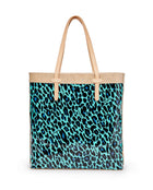 Gem Slim Tote in ConsuelaCloth by Consuela, back
