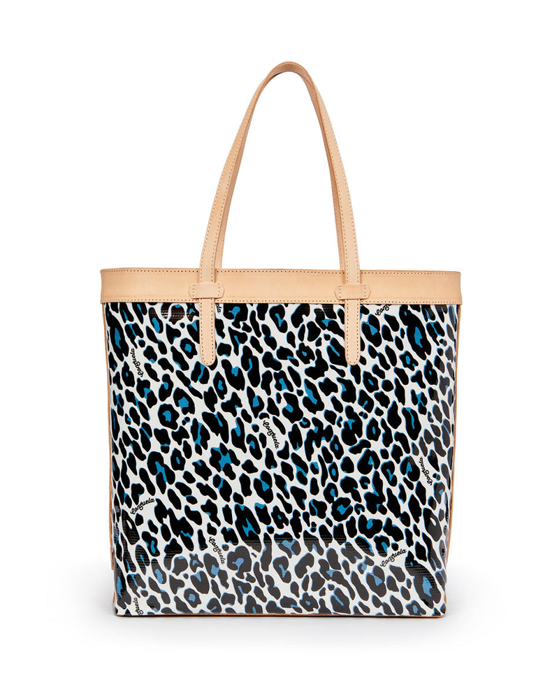 Lola Slim Tote by Consuela in ConsuelaCloth, front