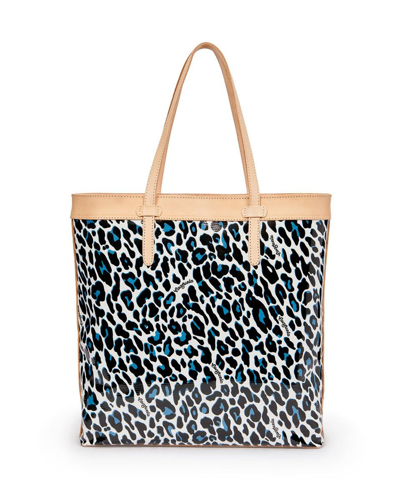 Lola Slim Tote by Consuela in ConsuelaCloth, back