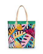 Maya Slim Tote in ConsuelaCloth by Consuela, front