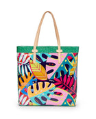 Maya Slim Tote in ConsuelaCloth by Consuela, back