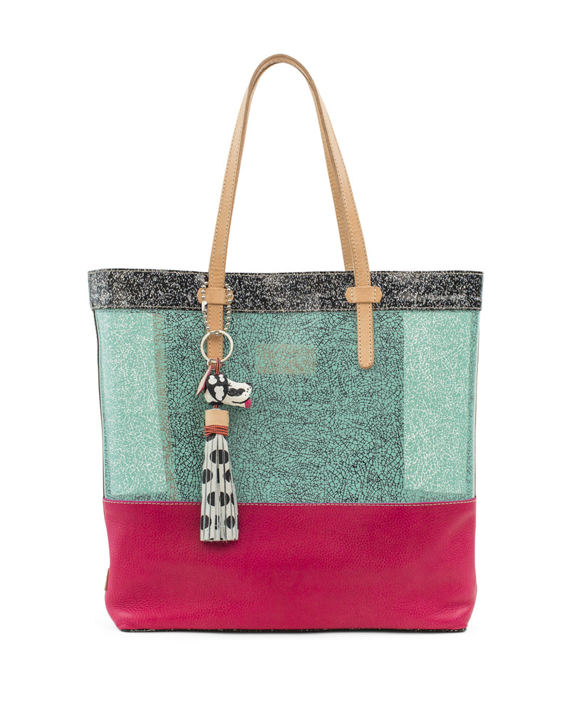 Rosa Irresistible Tote by Consuela, front view