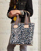 Lola Classic Tote in ConsuelaCloth™ by Consuela, model view