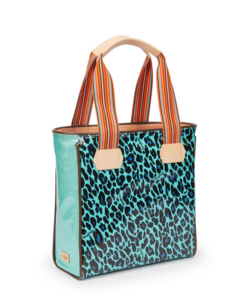 Gem Classic Tote by Consuela in Gem ConsuelaCloth™, side view
