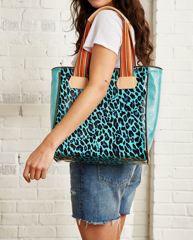 Gem Classic Tote by Consuela in Gem ConsuelaCloth™, model view