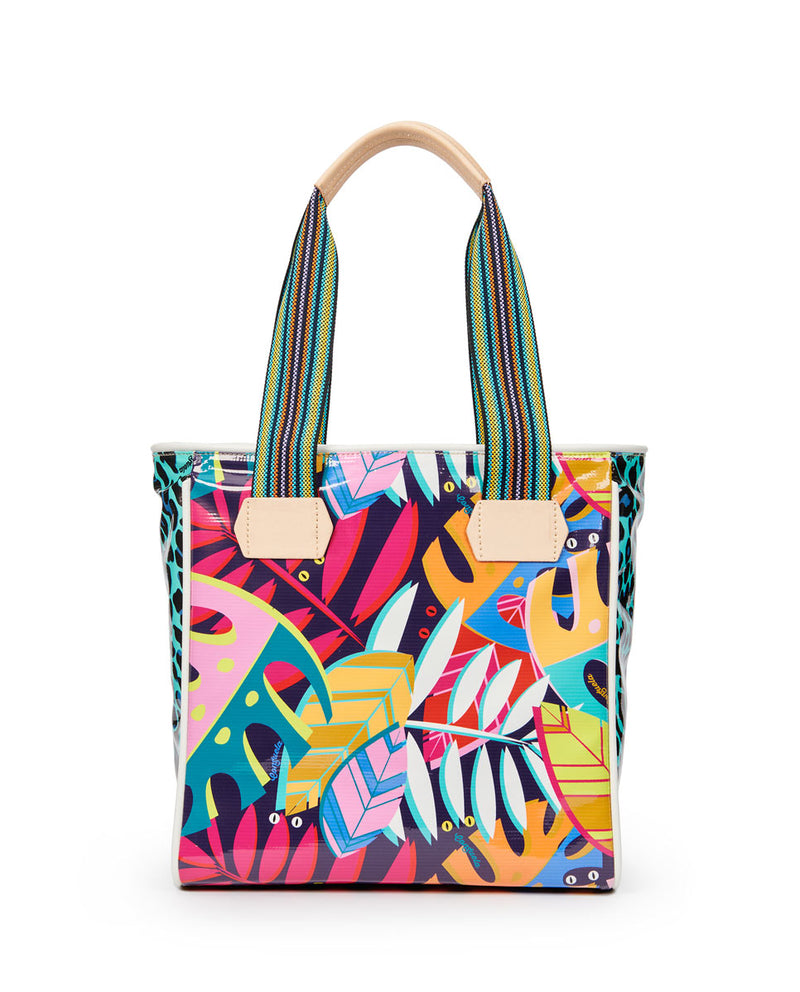 Maya Classic Tote by Consuela in Maya and Gem ConsuelaCloth™ , front view