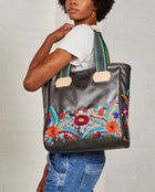 Consuela Olgita Classic Tote On Model with Shoulder Strap