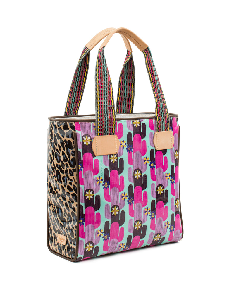 Buffy Classic Tote in ConsuelaCloth™ by Consuela, side view