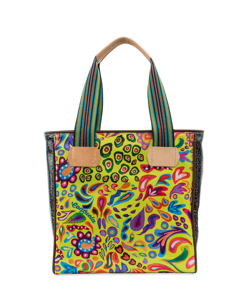 Rita Cassic Tote in ConsuelaCloth™ by Consuela, front view
