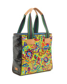 Rita Cassic Tote in ConsuelaCloth™ by Consuela, side view