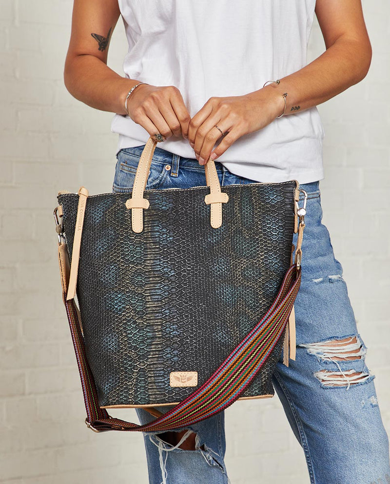 Consuela Rattler Sling On Model with Top Handles