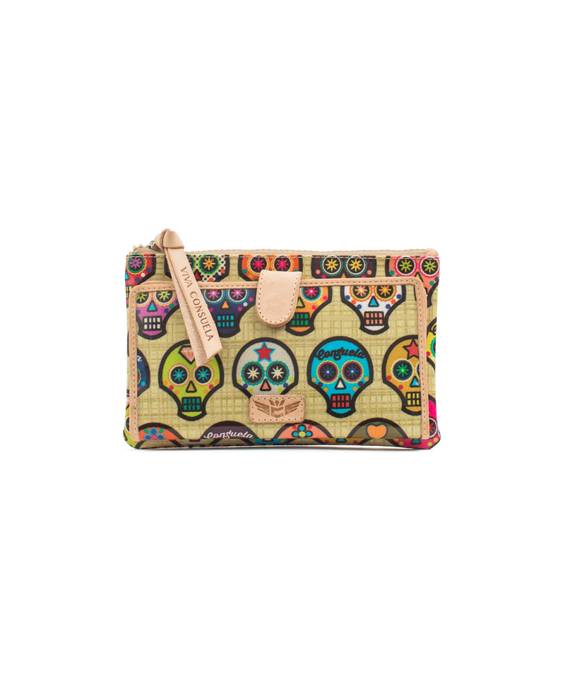 Sugar Skulls Slim Wallet