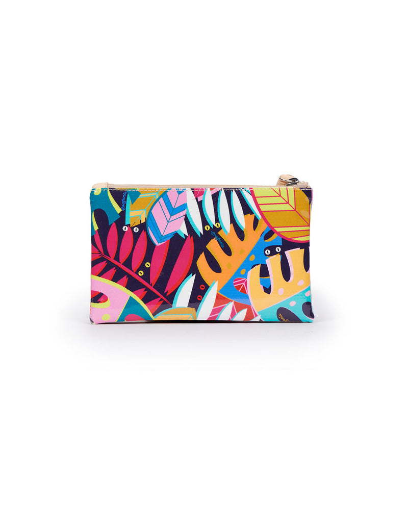 Maya Slim Wallet in Maya ConsuelaCloth by Consuela, back view