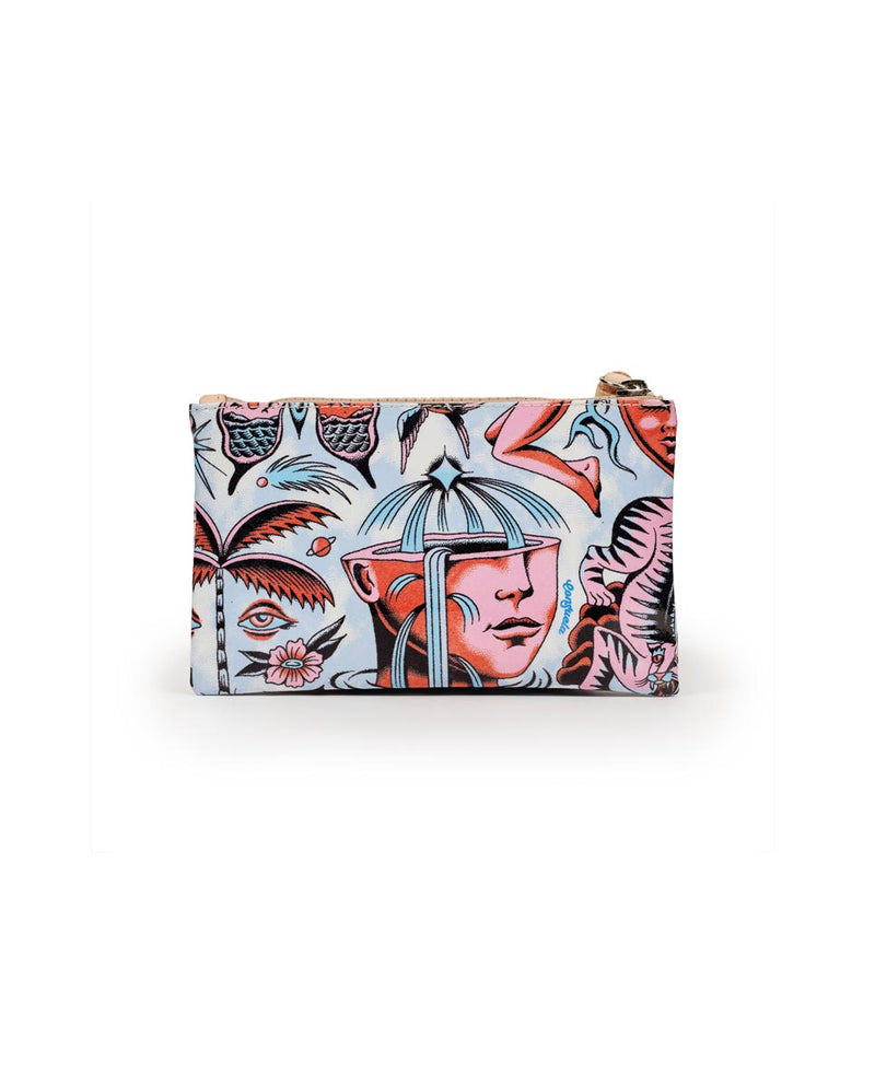 Consuela Vico Slim Wallet Back View