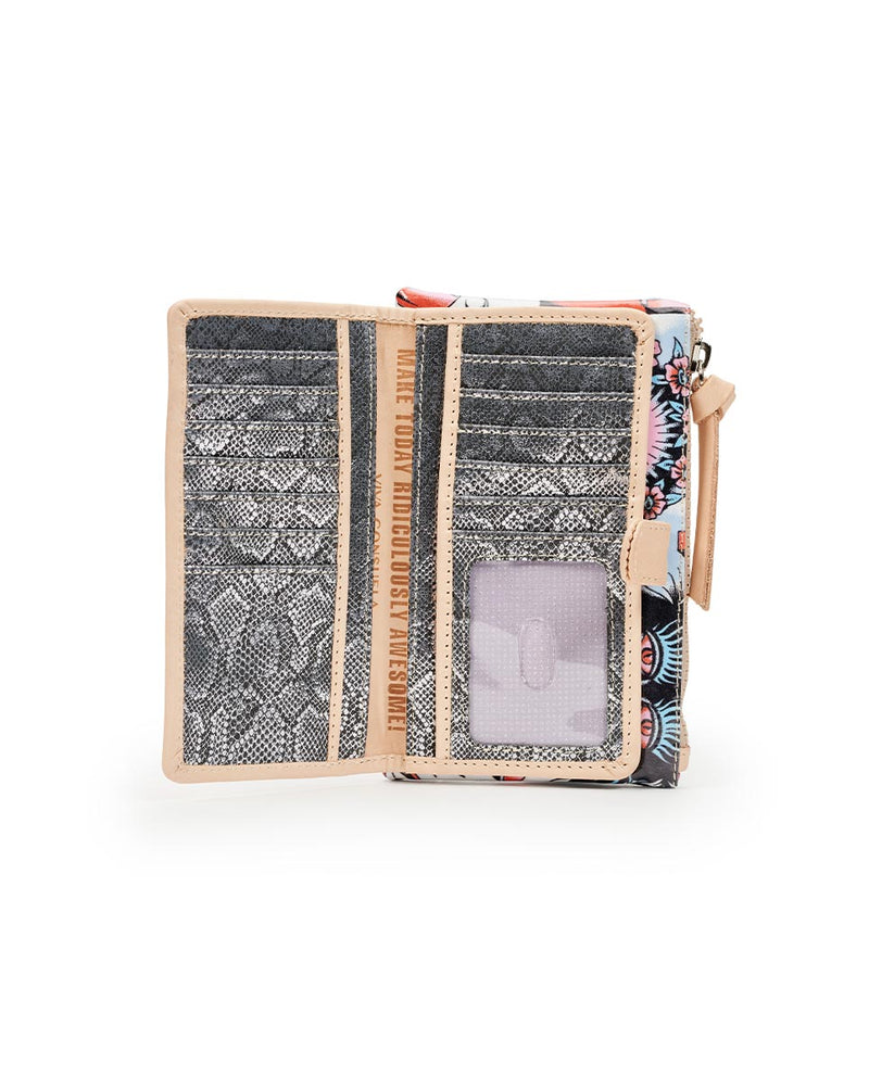 Consuela Vico Slim Wallet Inside View