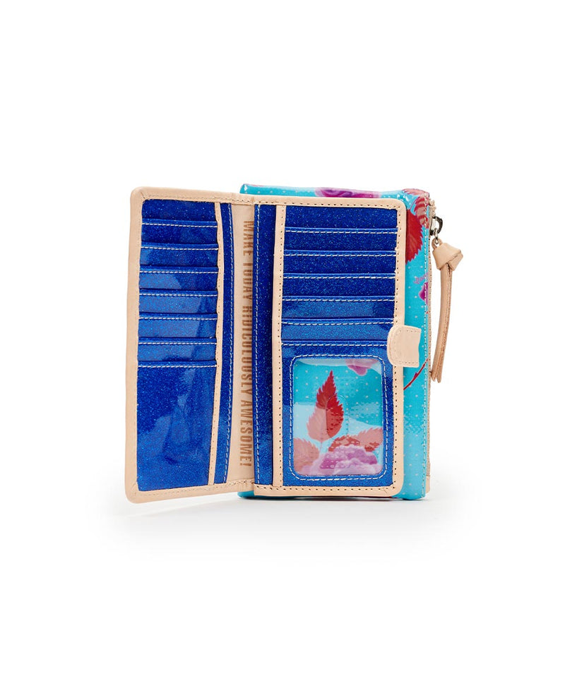 Consuela Mimi Slim Wallet Inside View