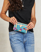 Consuela Mimi Slim Wallet On Model