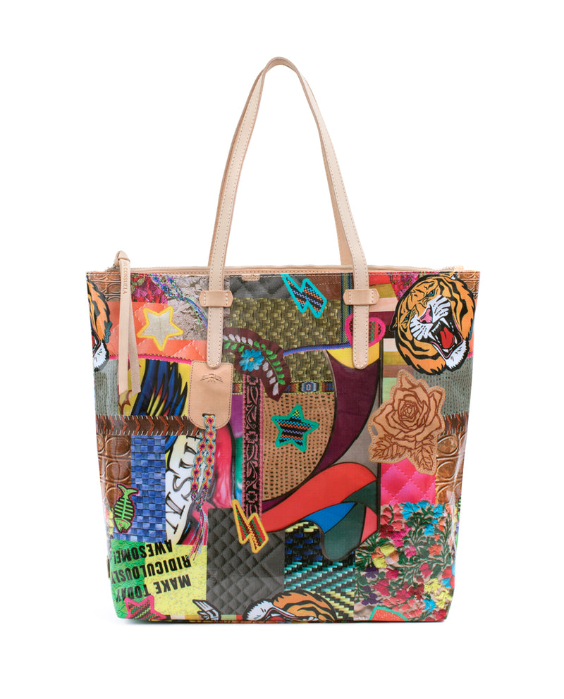 Patches Market Tote