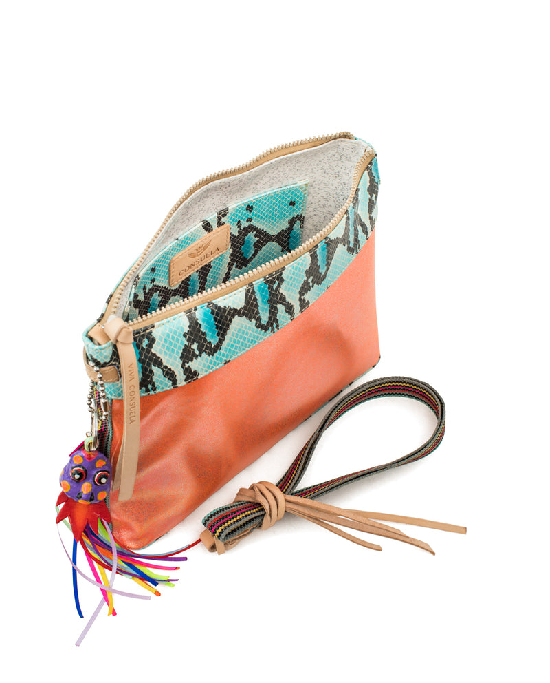 Carmen Downtown Crossbody by Consuela, interior view