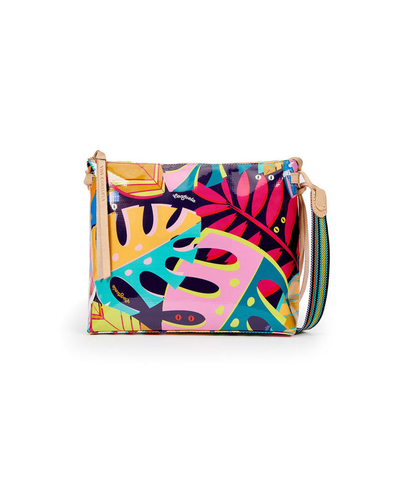 Maya Downtown Crossbody in ConsuelaCloth by Consuela, back