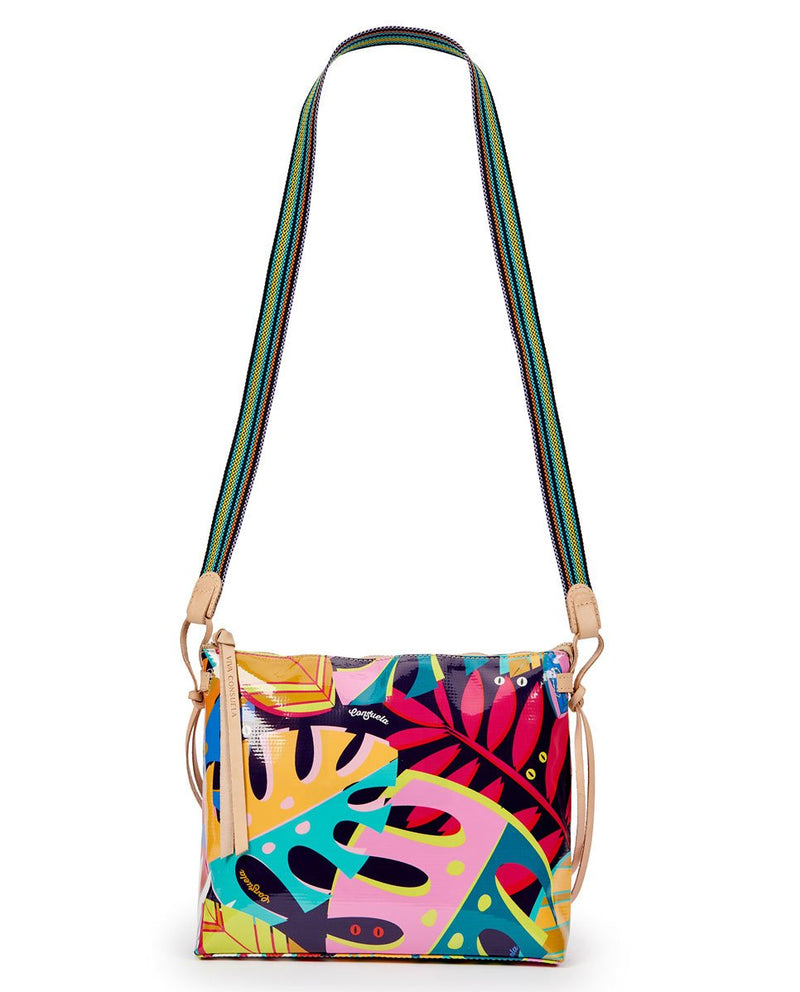 Maya Downtown Crossbody in ConsuelaCloth by Consuela, shoulder strap