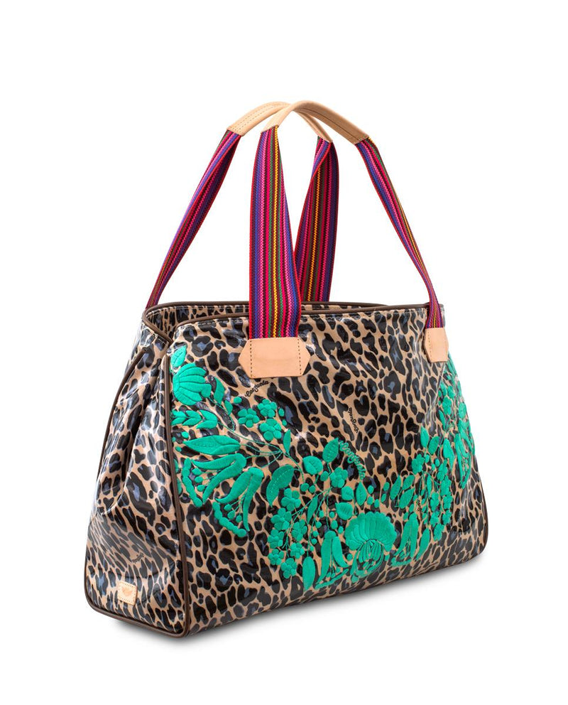 Bettie Grande Tote by Consuela, side view