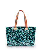 Gem Breezy East/West Tote in Gem ConsuelaCloth by Consuela, front view