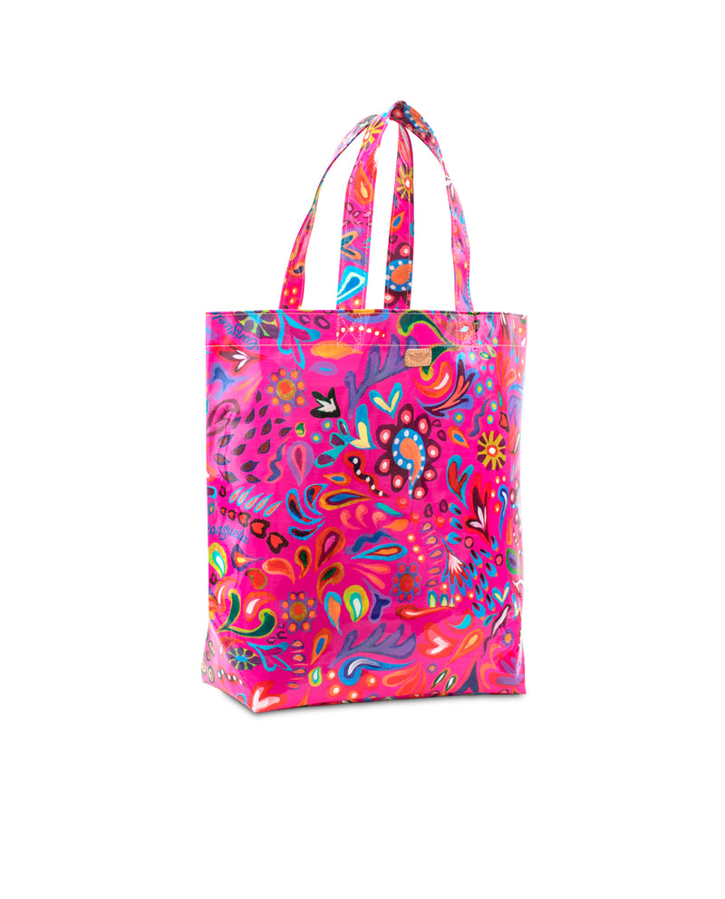 Pink Swirly Basic Bag