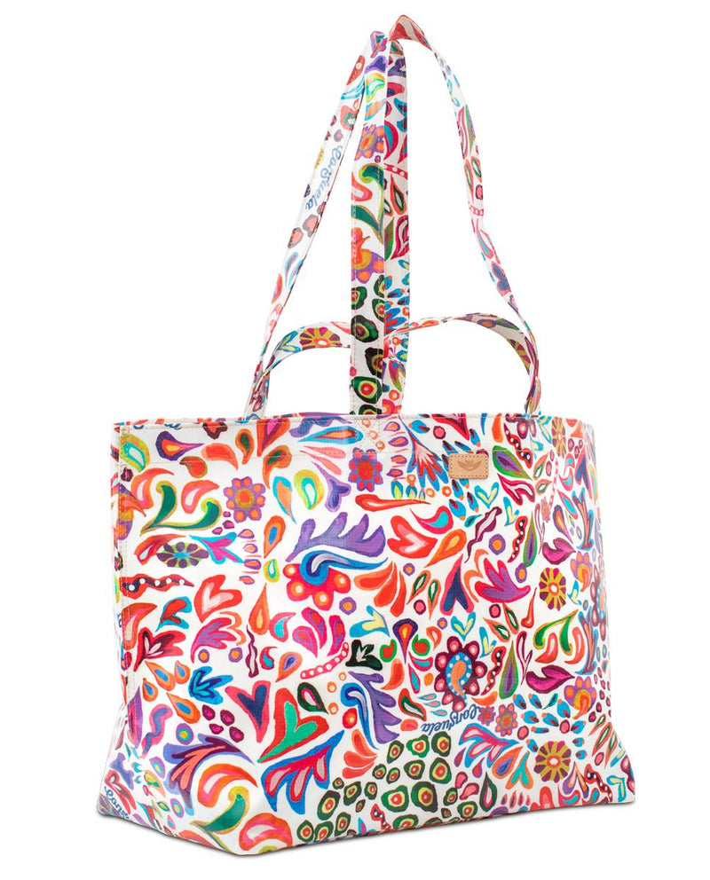 White Swirly Jumbo Bag