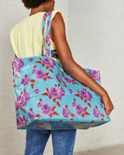 Consuela Mimi Jumbo Bag On Model with Shoulder Straps