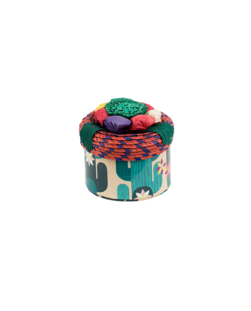 Spike Basic Trinket box in Spike ConsuelaCloth™ by Consuela, front view