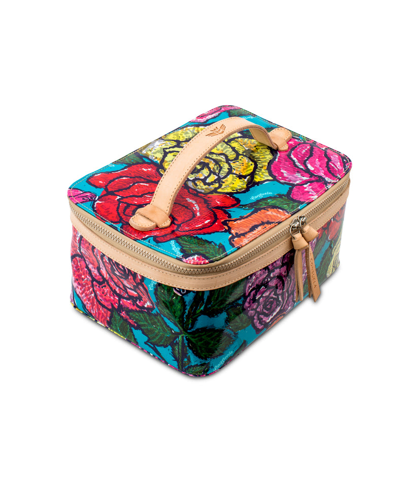 Rosie Train Case in ConsuelaCloth™ by Consuela, top view