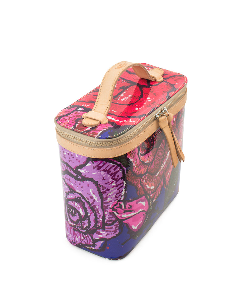 Royal Slim Train Case in ConsuelaCloth™ by Consuela, side view
