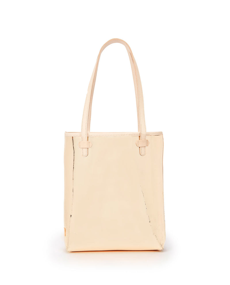Goldie Everyday Tote in gold metallic by Consuela, front view