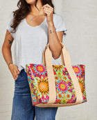 Consuela Trista Carryall On Model with Shoulder Straps