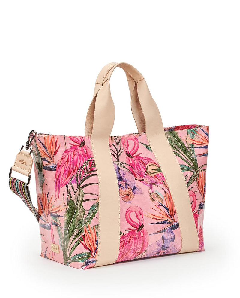 Consuela Brynn Large Carryall Side View