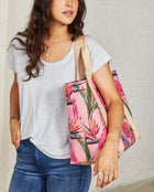 Consuela Brynn Large Carryall On Model with Shoulder Straps