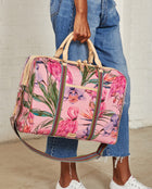 Consuela Brynn Jetsetter On Model with Top Handles