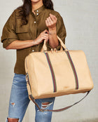 Consuela Diego Jetsetter On Model with Top Handles