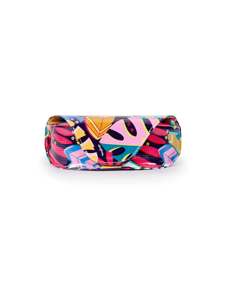 Maya Sunglass Case in Maya ConsuelaCloth front view