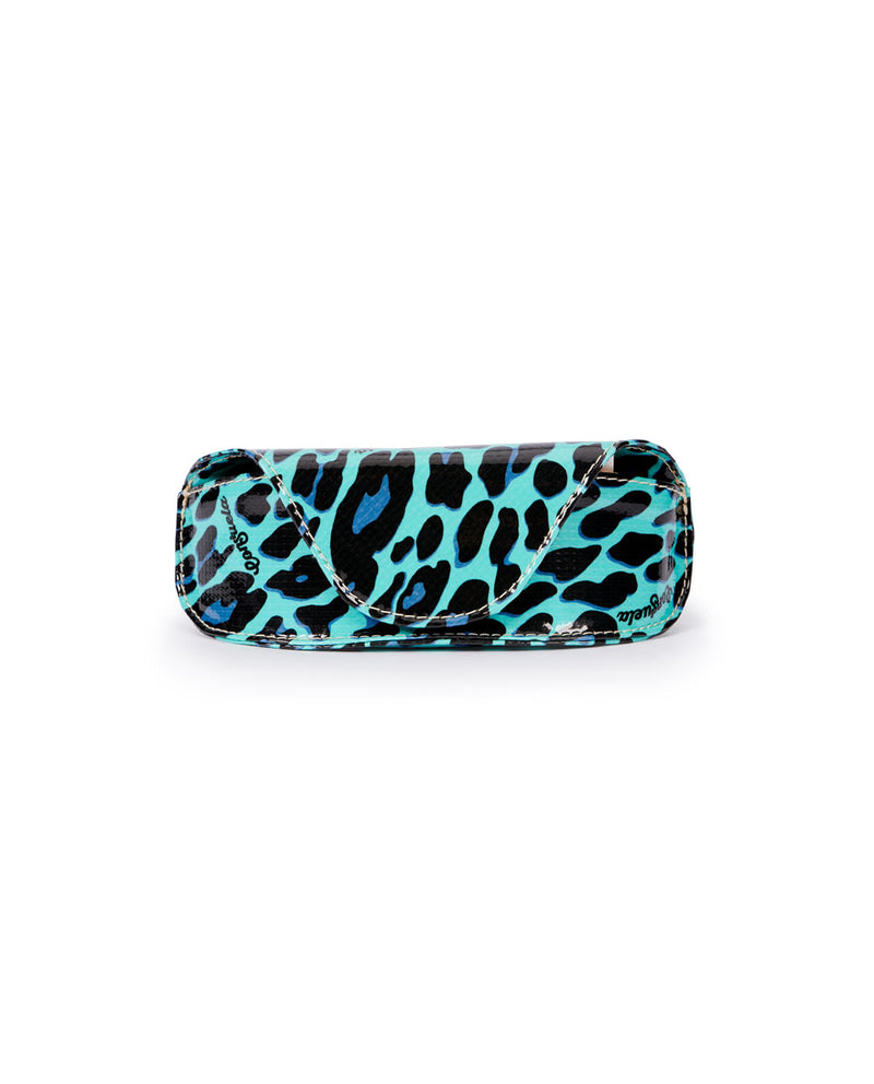 Gem Sunglass Case in Gem ConsuelaCloth by Consuela, front view