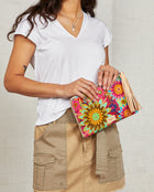Consuela Mona L-Shaped Clutch On Model