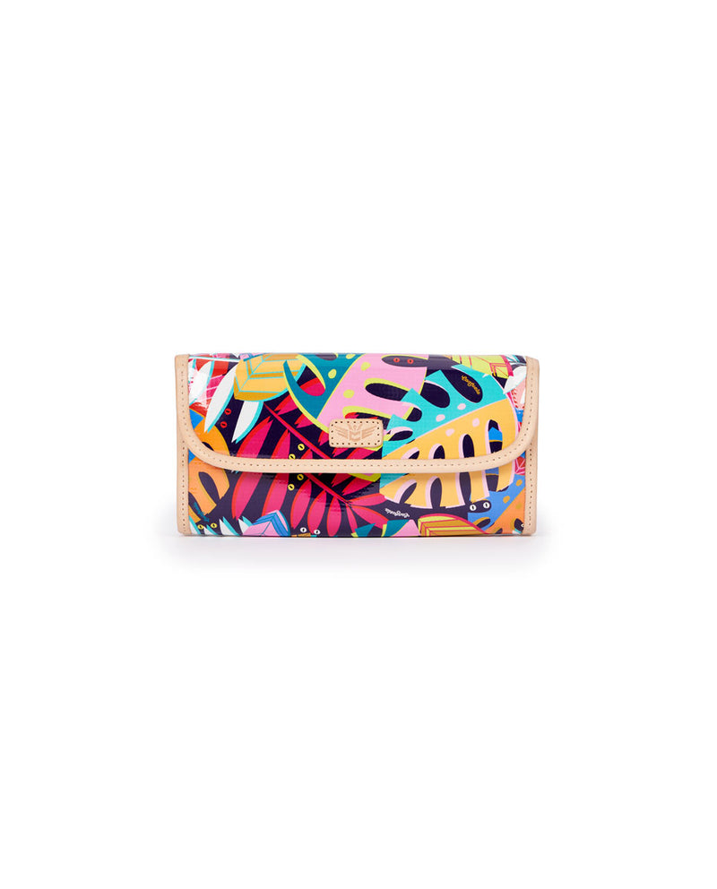 Maya Go-To Clutch in Maya ConsuelaCloth by Consuela, front view