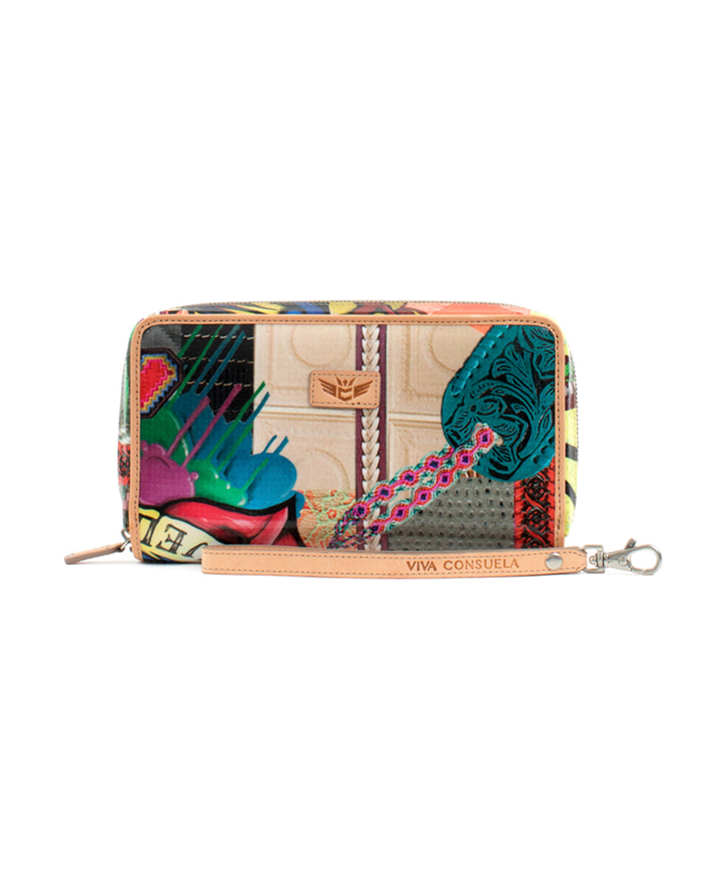 Patches Wristlet Wallet