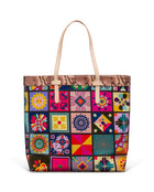 Allie Slim Tote in ConsuelaCloth™ by Consuela, front view
