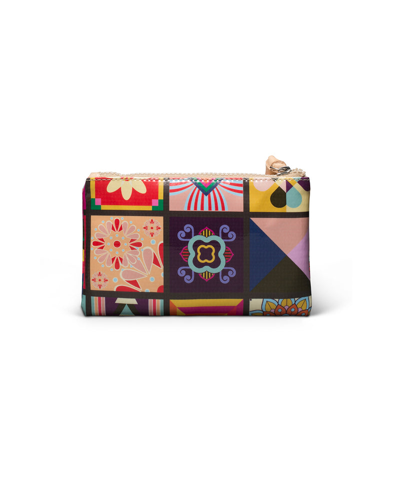 Allie Slim Wallet in ConsuelaCloth™ by Consuela, back view