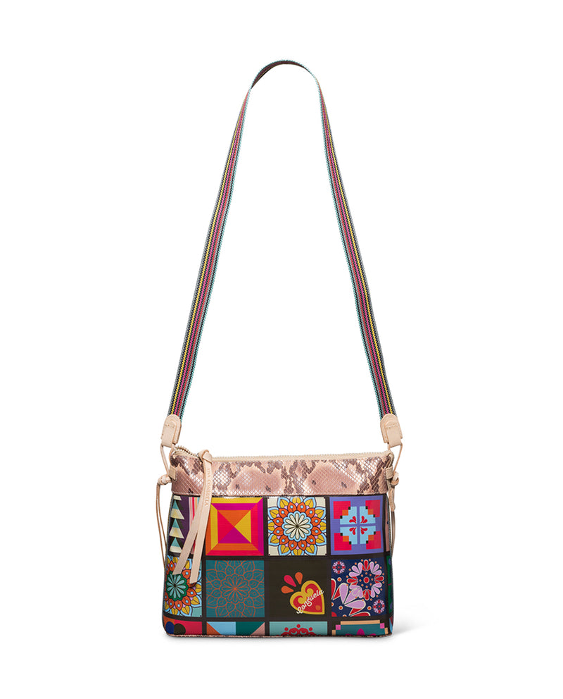 Allie Downtown Crossbody in ConsuelaCloth™ by Consuela, with crossbody strap