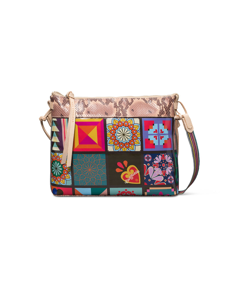 Allie Downtown Crossbody in ConsuelaCloth™ by Consuela, front