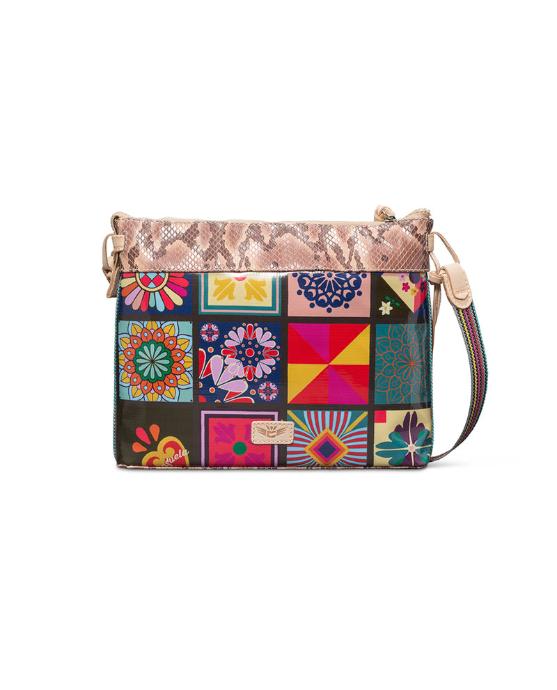 Allie Downtown Crossbody in ConsuelaCloth™ by Consuela, back