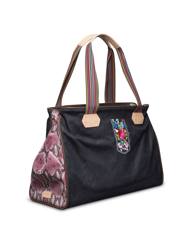 Aurora Grande Tote by Consuela, side